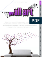 Wall Art Brochure