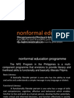 non formal education