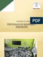 Protocolos de seguridad y evacuaciÓn