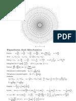 Equations Soil Mechanics Particles