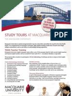 Study Tour Brochure Tsl