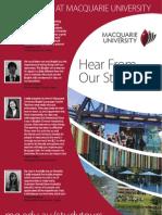Study Tours-case Studies and Testimonials 2013
