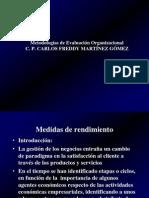 Metodologias de evaluación organizacional