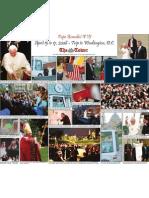 Pope Benedict XVI at CUA Photo Spread
