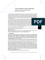 Social Network Analysis and Mining for Business Applications