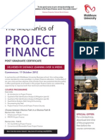 Distance Learning Project Finance