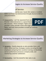 4.Marketing Strategies to Increase Service Quality