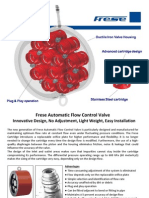 Frese Automatic Flow Control