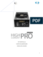 High Current Pro Platinum 1000 Manual ES v2