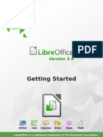 GettingStarted Guide Libre Office