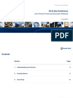 Understanding Joint Ventures in the Oil and Gas Sector