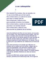 1 Carta a Un Catequista