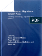 Roger Blench-Past Human Migrations in East Asia