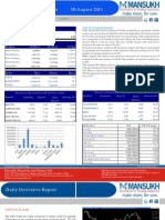 Derivative 06 August 2013  By Mansukh Investment and Trading Solution