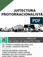 Arquitectura Protorracionalista