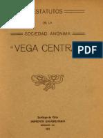 Estatutos de La S.a. Vega Central 1911