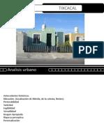 Tixcacal. Breve Analisis Urbano 11