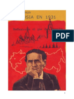 Cesar Vallejo - Rusia en 1931