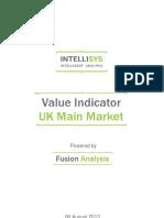 value indicator - uk main market 20130806