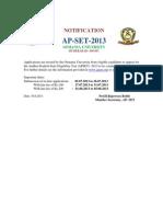 AP Set Notification 2013 PDF Format