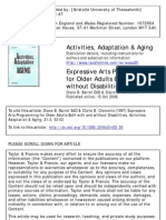 Barret & Clements, 1997 Expressive Arts Programming