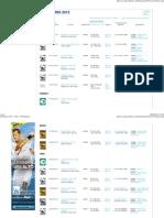 Calendario 2013 - Tenis -ATP Spanish