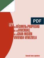 Ley del Régimen de Propiedad de las Viviendas-Venezuela