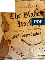Joe Abercrombie - The First Law 01 - The Blade Itself