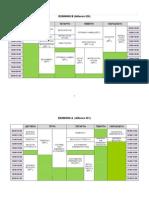 Ωρολόγιο πρόγραμμα εαρινού εξαμ 2012-2013