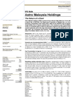Astro Malaysia Holdings_IPO Note_The Return of a Giant_20120927_OSK