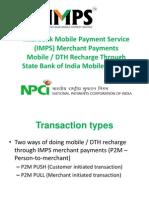 Through Sbi Mobile Banking