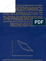Thermodynamics and an Introduction to Thermostatistics 2ed - H. Callen