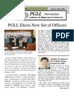 PGLL PHILIPPINE NEWSLETTER Vol.13 No.1-6