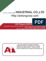 Dimensions, Sizes and Specification of DIN Flange & DIN Standard Flanges of Slip on Flanges, Blind Flanges, Welding Flanges