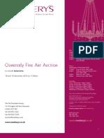 Rosebery's Quarterly Fine Art Auction