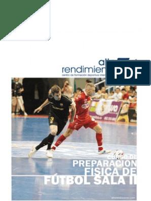 Curso Preparación Física De Fútbol Sala Ii Planificación Conocimiento