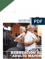Curso Actividad Física y Recreación del Adulto Mayor