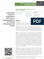 Evaluation of Structurally Related 3-Substituted 4-Amino-2- arylquinolines and 2-Aryl-4- methoxyquinolines for Potential Antimycobacterial Activity