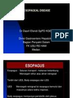 Gis156 Slide Esophageal Disease