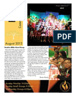 FCC Newsletter August '13