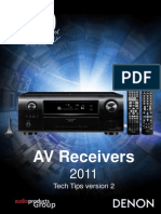 DENON AVR11 Tech Tips Version 2