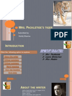 Mrs Packletides Tiger