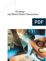 Foreign Exchange and Money Market Transactions