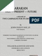 Arakan, British Early Report
