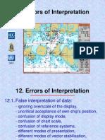 Errors in Interpretation