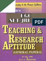 Teaching & Research Aptitude (General Paper-I)