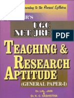 Teaching & Research Aptitude (General Paper-I)