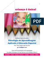 WQ PsicologiadaAprendizagem Profa.claudiaLopesdaSilva