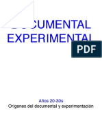 Documental Experimental Presentacion
