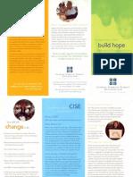 CISE Brochure